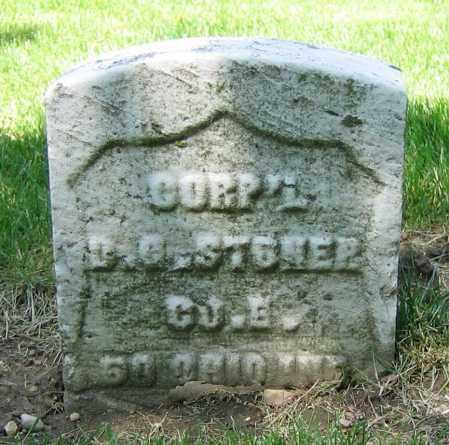 STONER, D.G. - Clark County, Ohio | D.G. STONER - Ohio Gravestone Photos