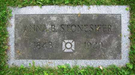 STONESIFER, ANNA B. - Clark County, Ohio | ANNA B. STONESIFER - Ohio Gravestone Photos