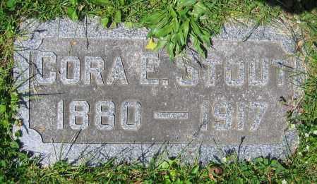 STOUT, CORA E. - Clark County, Ohio | CORA E. STOUT - Ohio Gravestone Photos