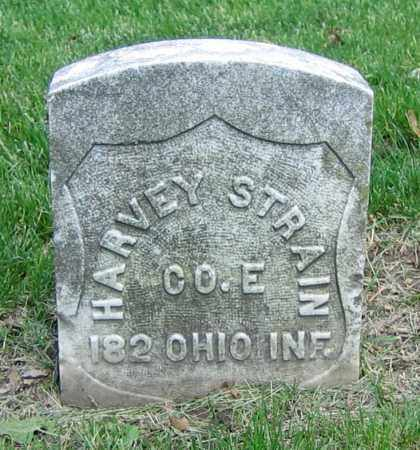 STRAIN, HARVEY - Clark County, Ohio | HARVEY STRAIN - Ohio Gravestone Photos