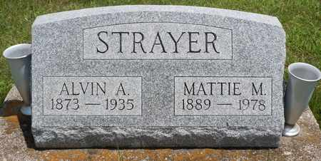 STRAYER, ALVIN - Clark County, Ohio | ALVIN STRAYER - Ohio Gravestone Photos