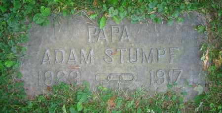 STUMPF, ADAM - Clark County, Ohio | ADAM STUMPF - Ohio Gravestone Photos