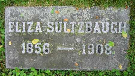 SULTZBAUGH, ELIZA - Clark County, Ohio | ELIZA SULTZBAUGH - Ohio Gravestone Photos