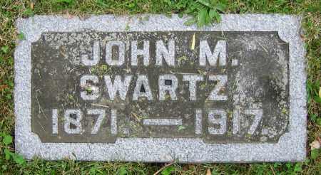 SWARTZ, JOHN M. - Clark County, Ohio | JOHN M. SWARTZ - Ohio Gravestone Photos