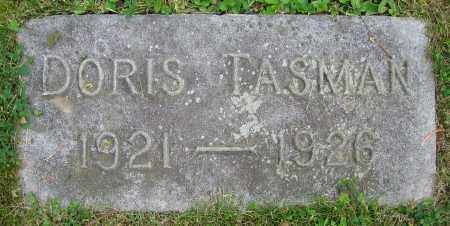 TASMAN, DORIS - Clark County, Ohio | DORIS TASMAN - Ohio Gravestone Photos
