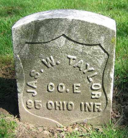 TAYLOR, JAS. W. - Clark County, Ohio | JAS. W. TAYLOR - Ohio Gravestone Photos