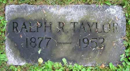TAYLOR, RALPH R. - Clark County, Ohio | RALPH R. TAYLOR - Ohio Gravestone Photos
