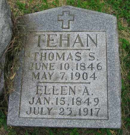 TEHAN, THOMAS S. - Clark County, Ohio | THOMAS S. TEHAN - Ohio Gravestone Photos