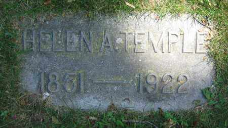 TEMPLE, HELEN A. - Clark County, Ohio | HELEN A. TEMPLE - Ohio Gravestone Photos