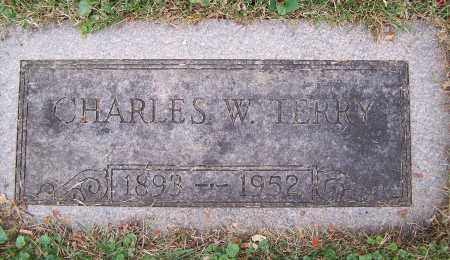 TERRY, CHARLES W. - Clark County, Ohio | CHARLES W. TERRY - Ohio Gravestone Photos