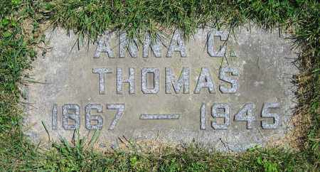 THOMAS, ANNA C. - Clark County, Ohio | ANNA C. THOMAS - Ohio Gravestone Photos