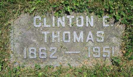 THOMAS, CLINTON E. - Clark County, Ohio | CLINTON E. THOMAS - Ohio Gravestone Photos
