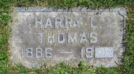 THOMAS, HARRY L. - Clark County, Ohio | HARRY L. THOMAS - Ohio Gravestone Photos