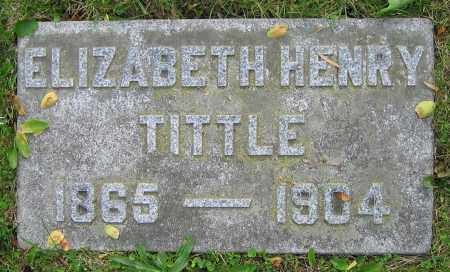 TITTLE, ELIZABETH - Clark County, Ohio | ELIZABETH TITTLE - Ohio Gravestone Photos