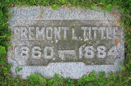 TITTLE, FREMONT L. - Clark County, Ohio | FREMONT L. TITTLE - Ohio Gravestone Photos