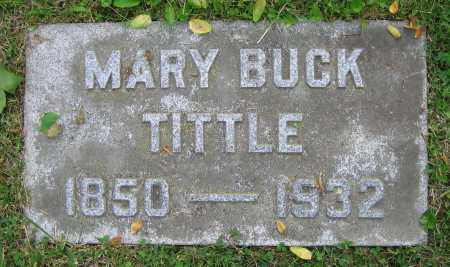 BUCK TITTLE, MARY - Clark County, Ohio | MARY BUCK TITTLE - Ohio Gravestone Photos