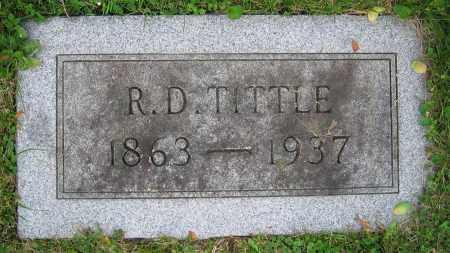 TITTLE, R.D. - Clark County, Ohio | R.D. TITTLE - Ohio Gravestone Photos