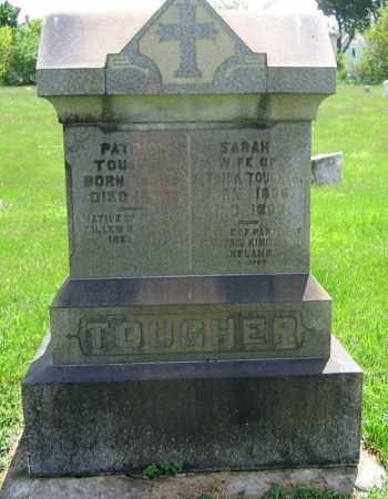 TOUGHER, SARAH - Clark County, Ohio | SARAH TOUGHER - Ohio Gravestone Photos