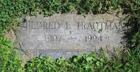 TRAUTMAN, MILDRED L. - Clark County, Ohio | MILDRED L. TRAUTMAN - Ohio Gravestone Photos