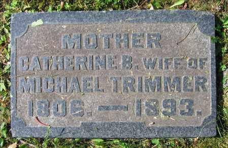 TRIMMER, CATHERINE B. - Clark County, Ohio | CATHERINE B. TRIMMER - Ohio Gravestone Photos