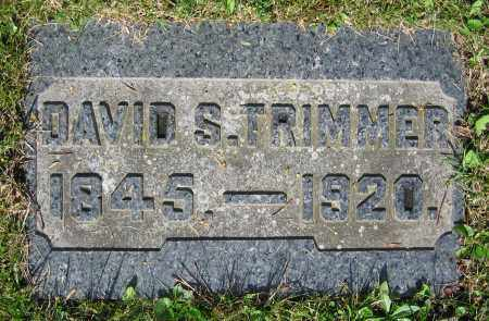 TRIMMER, DAVID S. - Clark County, Ohio | DAVID S. TRIMMER - Ohio Gravestone Photos