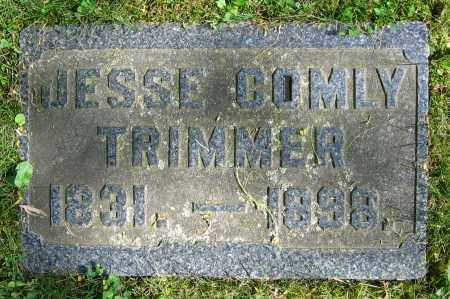 TRIMMER, JESSE COMLY - Clark County, Ohio | JESSE COMLY TRIMMER - Ohio Gravestone Photos