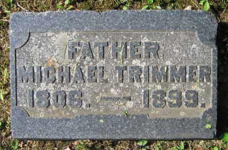 TRIMMER, MICHAEL - Clark County, Ohio | MICHAEL TRIMMER - Ohio Gravestone Photos
