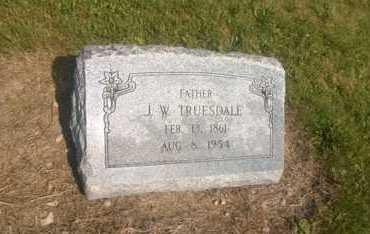TRUESDALE, J. W. - Clark County, Ohio | J. W. TRUESDALE - Ohio Gravestone Photos