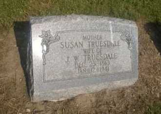 ATCHINSON TRUESDALE, SUSAN - Clark County, Ohio | SUSAN ATCHINSON TRUESDALE - Ohio Gravestone Photos