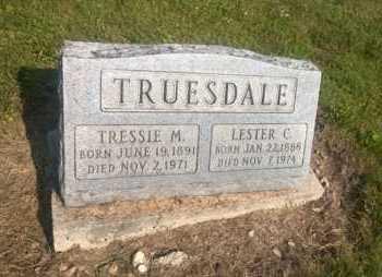 TRUESDALE, LESTER C. - Clark County, Ohio | LESTER C. TRUESDALE - Ohio Gravestone Photos