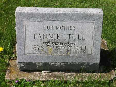 TULL, FANNIE - Clark County, Ohio | FANNIE TULL - Ohio Gravestone Photos
