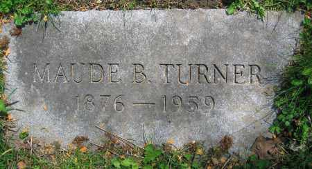 TURNER, MAUDE B. - Clark County, Ohio | MAUDE B. TURNER - Ohio Gravestone Photos
