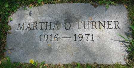 TURNER, MARTHA O. - Clark County, Ohio | MARTHA O. TURNER - Ohio Gravestone Photos