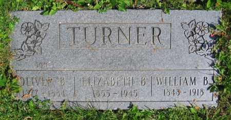 TURNER, ELIZABETH B. - Clark County, Ohio | ELIZABETH B. TURNER - Ohio Gravestone Photos