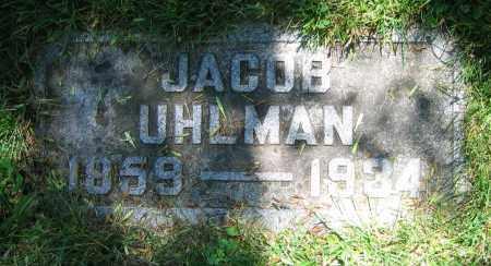 UHLMAN, JACOB - Clark County, Ohio | JACOB UHLMAN - Ohio Gravestone Photos