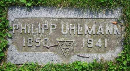 UHLMANN, PHILIPP - Clark County, Ohio | PHILIPP UHLMANN - Ohio Gravestone Photos
