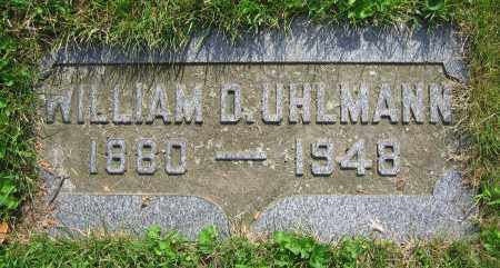 UHLMANN, WILLIAM D. - Clark County, Ohio | WILLIAM D. UHLMANN - Ohio Gravestone Photos