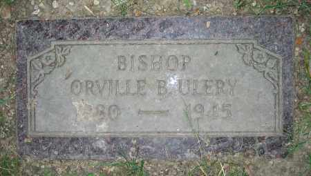 ULERY, ORVILLE B.  BISHOP - Clark County, Ohio | ORVILLE B.  BISHOP ULERY - Ohio Gravestone Photos