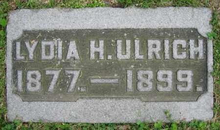ULRICH, LYDIA H. - Clark County, Ohio | LYDIA H. ULRICH - Ohio Gravestone Photos