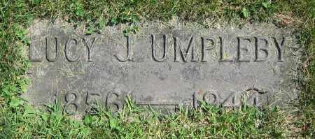 UMPLEBY, LUCY J. - Clark County, Ohio | LUCY J. UMPLEBY - Ohio Gravestone Photos