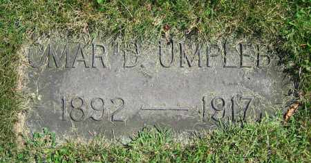 UMPLEBY, OMAR D. - Clark County, Ohio | OMAR D. UMPLEBY - Ohio Gravestone Photos