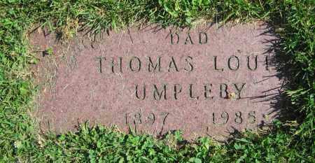 UMPLEBY, THOMAS LOUIS - Clark County, Ohio | THOMAS LOUIS UMPLEBY - Ohio Gravestone Photos