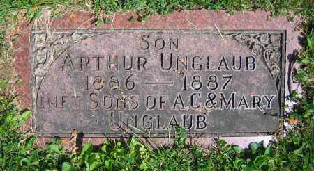 UNGLAUB, ARTHUR - Clark County, Ohio | ARTHUR UNGLAUB - Ohio Gravestone Photos