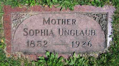 UNGLAUB, SOPHIA - Clark County, Ohio | SOPHIA UNGLAUB - Ohio Gravestone Photos