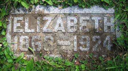 VALENTINE, ELIZABETH - Clark County, Ohio | ELIZABETH VALENTINE - Ohio Gravestone Photos