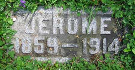 VALENTINE, JEROME - Clark County, Ohio | JEROME VALENTINE - Ohio Gravestone Photos