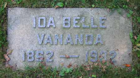 VANANDA, IDA BELLE - Clark County, Ohio | IDA BELLE VANANDA - Ohio Gravestone Photos