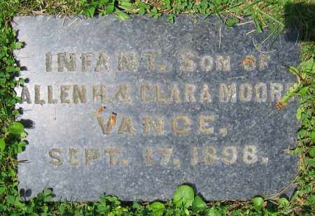VANCE, INFANT - Clark County, Ohio | INFANT VANCE - Ohio Gravestone Photos