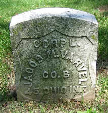VARVEL, JACOB M. - Clark County, Ohio | JACOB M. VARVEL - Ohio Gravestone Photos