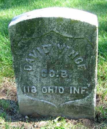 VINCE, DAVID - Clark County, Ohio | DAVID VINCE - Ohio Gravestone Photos